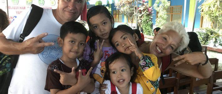 Marine's Smile à l'orphelinat Yappenatim en Août 2017 – 1ère journée