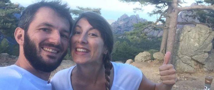 Marine's Smile sur la piste du GR20 en Corse !