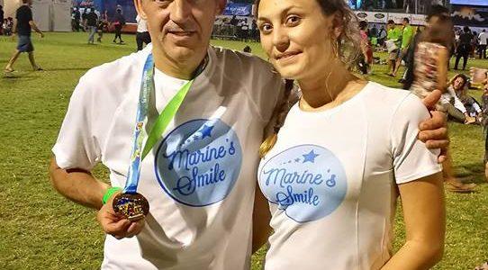 Marine's Smile sur la 25ème édition du Grand Raid à la Réunion !!