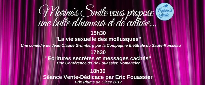 Le Dimanche 3 Décembre 2017 : Théâtre & Culture for Marine's Smile !