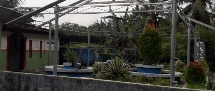 Les travaux du toit avancent !