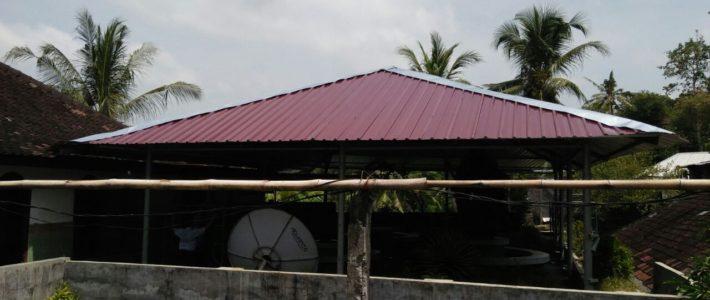 Fin des travaux «toit» à l'orphelinat !