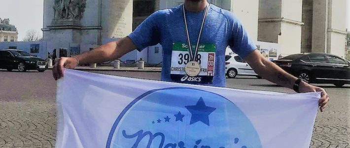 Marathon de Paris for Marine's Smile !