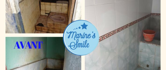 Rénovation des toilettes des garçons !