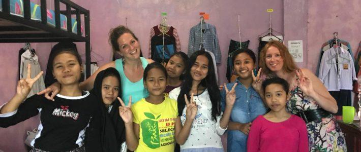 Mathou et Virginie à l'orphelinat Yappenatim !