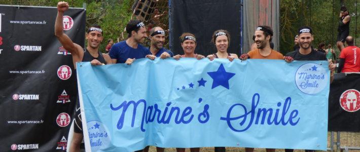 Marine's Smile à la Spartan Race Paris !
