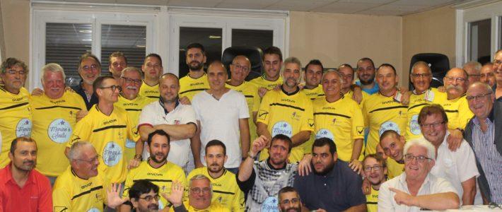L'équipe de Foot à sept du Gazelec Foot de Vienne (G.O.V.) joue pour Marine's Smile !