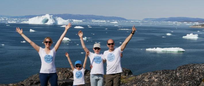 Marine's Smile au Groenland !